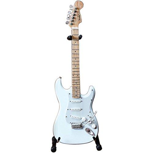 (Axe Heaven FS-008 Fender Strat Olympic White Finish Miniature Guitar Replica)