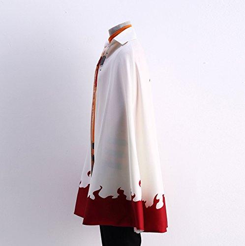 OURCOSPLAY US Size Men's Uzumaki Cloak 7th Hokage Cloak Boruto Cosplay Costume (Men US XL) by OURCOSPLAY (Image #1)