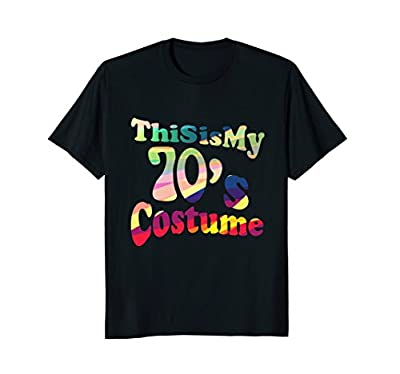 70s Halloween Costume 70s T Shirt Women Men Girls