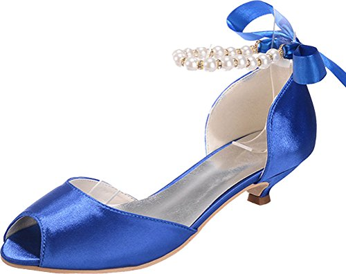 Bleu EU Find Femme 36 Ouvert Bout Nice Bleu 5 wTTqv7Sx4