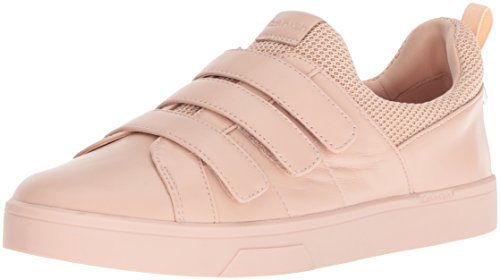 Calvin Klein Women's Irah Sneaker, Sheer Satin, 9 Medium US
