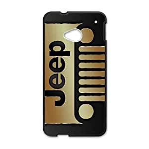 HTC One M7 Phone Case Jeep Wrangler Car Logo Case Cover LP7P565090