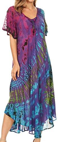 Hippie Chic Maxi Dress - 2