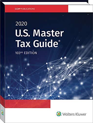 U.S. Master Tax Guide (2020)