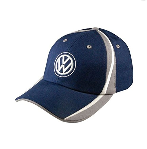 Genuine Volkswagen VW Raceway Cap - Blue/Navy , One Size