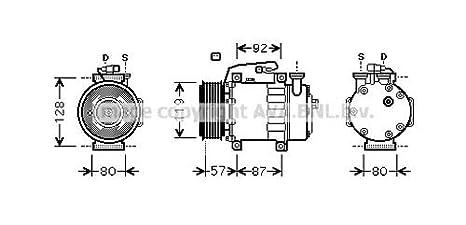 Ava Quality Cooling fdk468 Compresor, aire acondicionado: Amazon.es: Coche y moto