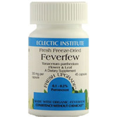 Feverfew Freeze-Dried 350mg Organic Eclectic Institute 90 VCaps ()