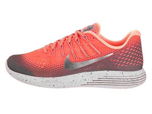 Nike Damen Wmns Lunarglide 8 Shield Sneaker Orange