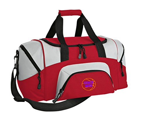 Basketball Personalized - Colorblock Sport Large Duffle Bag (Custom Basketball Bags)