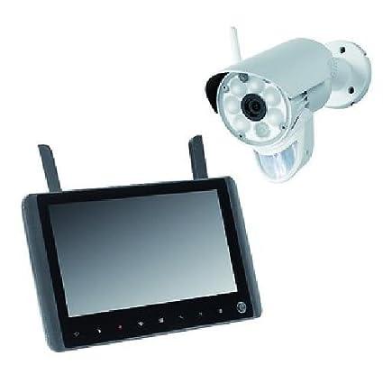 Indexa - Cámara de vigilancia inalámbrica de alta definición con pantalla multifuncional - dw600 set