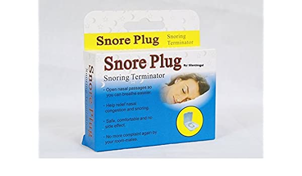 Amazon.com: Silent Angel Snore Plug The New Solution to Stop Snoring. Anti-Snoring Nose Clip for Natural Relief against Heavy Breathing & Snoring.