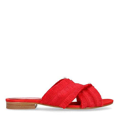 Sacha Damen Zehentrenner Rot