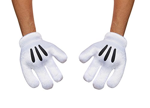 Disguise Costumes Mickey Mouse Gloves, (Mickey Gloves)