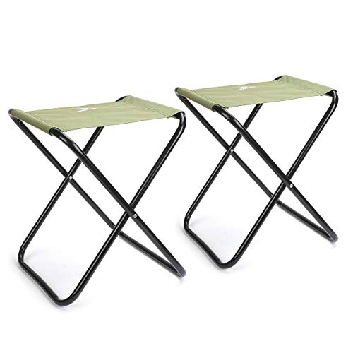 Mossy Oak Mini Folding Chair for Kids, Portable Camping Stool, Lightweight Chair, 2 Pack