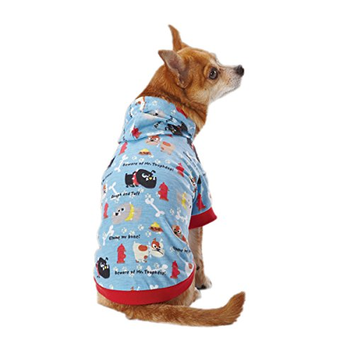 [Casual Canine ZM3439 16 19 Toughdog Pullover for Dogs, Medium, Blue] (Casual Canine Sweatshirt)
