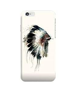 "Apple Iphone 6 Plus 5.5"" Case - The Best 3d Full Wrap Iphone Case - Native American Minimalistic"