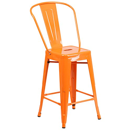 24-high-orange-metal-indoor-outdoor-counter-height-stool-with-back