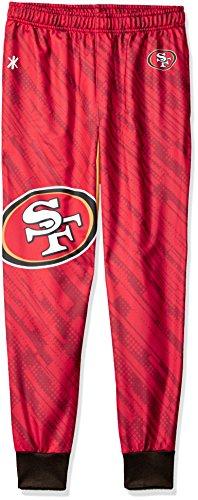 San Francisco 49ers Polyester Mens Jogger Pant Extra Large