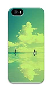 iPhone 5 5S Case Beach Bicycle 3D Custom iPhone 5 5S Case Cover