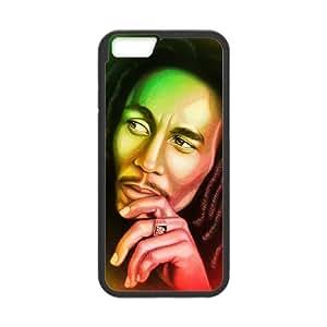 iPhone 6 4.7 Inch Cell Phone Case Black Bob Marley xhdu