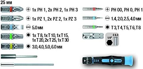 3 USH Bit Bits Schrauberklinge PZ2 PZ 2 Länge 70 mm