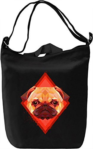 Beauty Of Pug Borsa Giornaliera Canvas Canvas Day Bag| 100% Premium Cotton Canvas| DTG Printing|