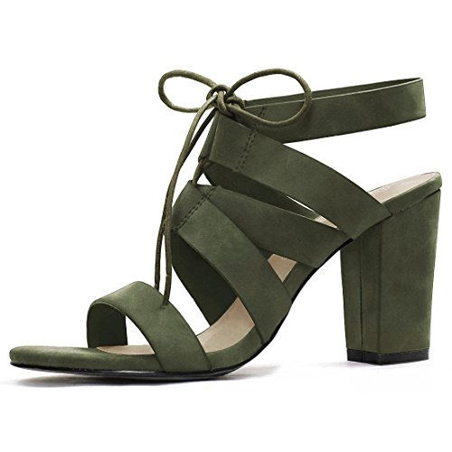 Allegra Womens Heels Cutout Sandal product image