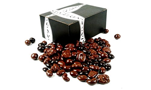 Marich Chocolate Nut Medley, 2 lb Bag in a BlackTie Box