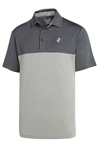 (Three Sixty Six Dri-Fit Golf Shirts for Men - Moisture Wicking Short-Sleeve Polo Shirt )