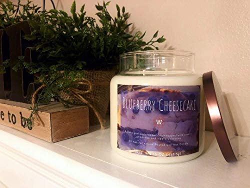 - Blueberry Cheesecake Soy Candle, 16 oz