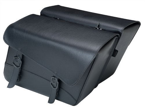 Willie And Max Throw-Over Black Jack Saddlebags 5958900