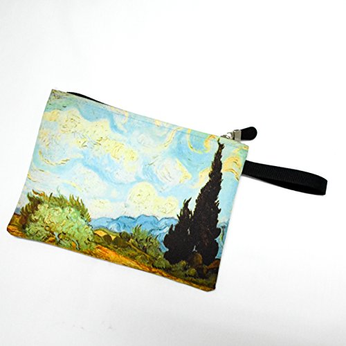 Van Gogh the Wheat Field with Cypresses Bag - Van Mens Noten Bag Dries