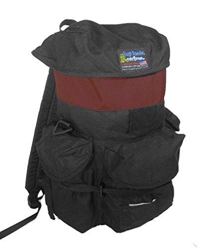 "Tough Traveler ""TF Backpack"" Made in USA (Burgundy)"