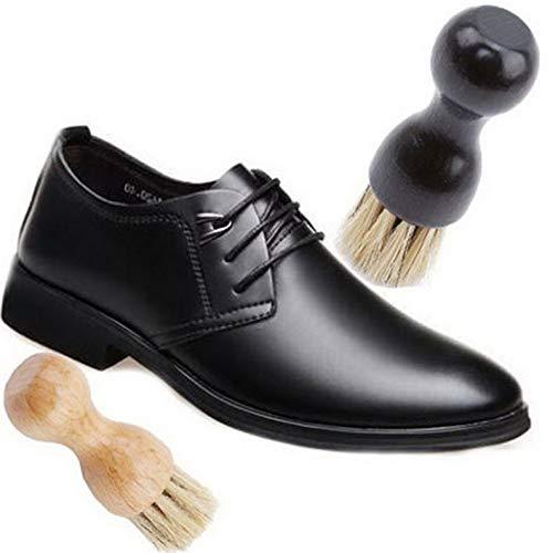 Werrox Handle Wood Bristle Horse Shoe Hair Brush Boot Polish Cleaning Dauber H | Model HRBRSH - 334 |