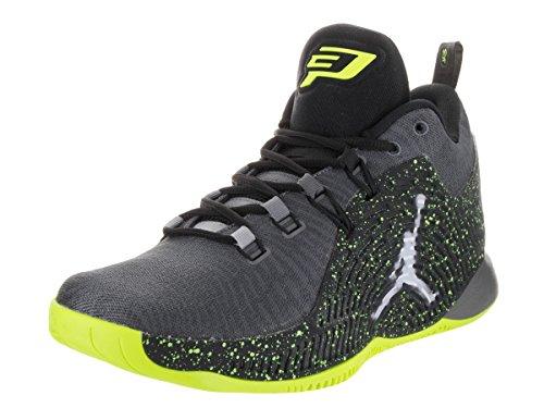 Nike Jordan Men's Jordan CP3.X Dark Grey/White/Black/Volt...