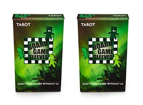 Arcane Tinmen Tarot Non-Glare Board Game Card Sleeves – 70mm x 120mm – Bundle of 2 – 100 Sleeves Total [並行輸入品] B07SC776T1