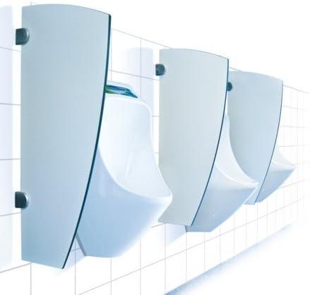 Urimat Trespa Separador de Pared para urinarios, Color Blanco: Amazon.es: Hogar