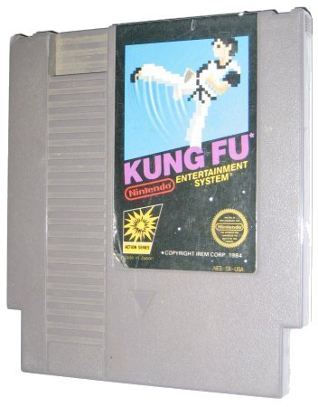 NES Kung Fu Video Game USED