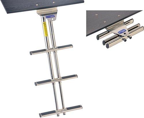 Garelick 19636:01 EEz-In Under Platform Double-Tube Telescoping Dive Ladder