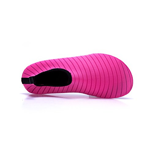 de de de de de Soles Color Unisex LEKUNI Agua red Zapatos Playa Zapatos LK Natación Secado Piscina Rápido Respirable Calzado Agua C Cq4an