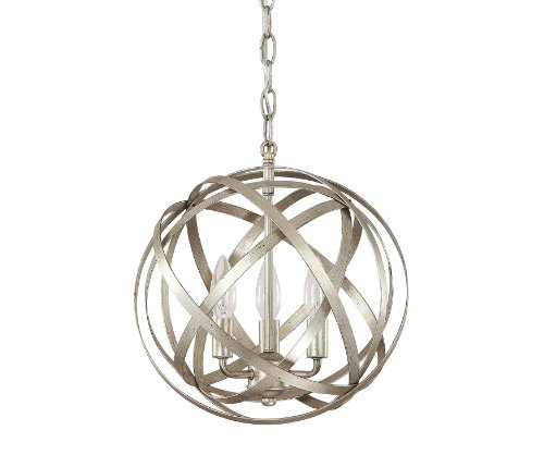 Capital Lighting 4233Wg Axis 3 Light Pendant  Winter Gold Finish