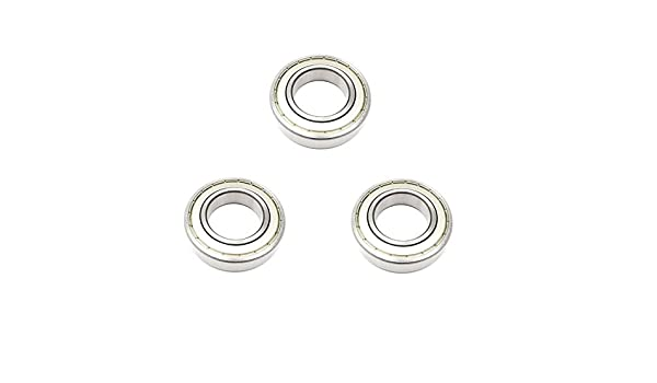 8x 6210-ZZ Ball Bearing 50mm x 90mm x 20mm Double Shielded Metal Seal NEW