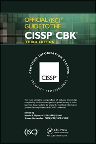 Official (isc)2 guide to the cissp cbk, third edition: access.