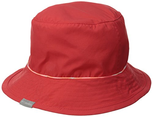 Columbia - Bahama Bucket Hat Red Shadow Check, color hibiscus , talla L/XL