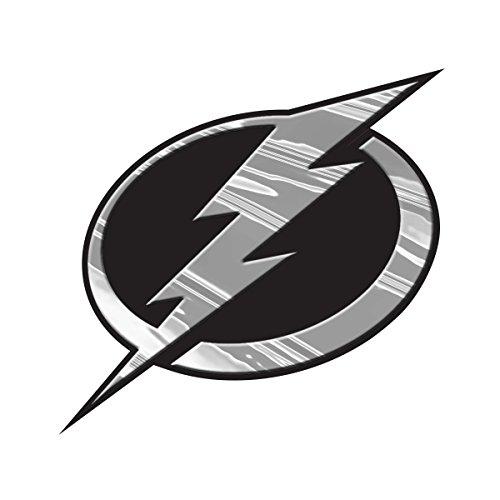 NHL Tampa Bay Lightning Chrome Automobile Emblem