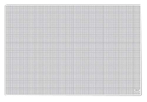 Olfa 36'' x 24'' Self-Healing Cutting Mat, One Side Translucent w/White Lines, Other Side Solid Translucent - TCM-L