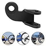 NOHPILY Bike Trailer Hitch Coupler 12.2MM Bicycle Steel Hitch Coupler Attachment Connector