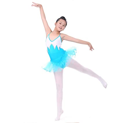 5f81941d1 Image Unavailable. Image not available for. Color: MacRoog Kids Girls  Sleeveless Gymnastics Dance Leotard with Tutu Skirts Activewear Ballet  Dresses