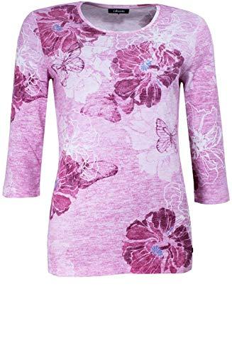 Punta Manica Pink Donna Rose A Olsen 4 3 shirt Tonda T Dark twqxUvXS