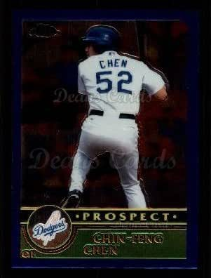 2000 Bowman Draft Picks /& Prospects #17 Chin-Feng Chen tarjeta de los Dodgers de Los Angeles